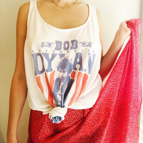 Old Navy Tops - Bob Dylan Band Tank